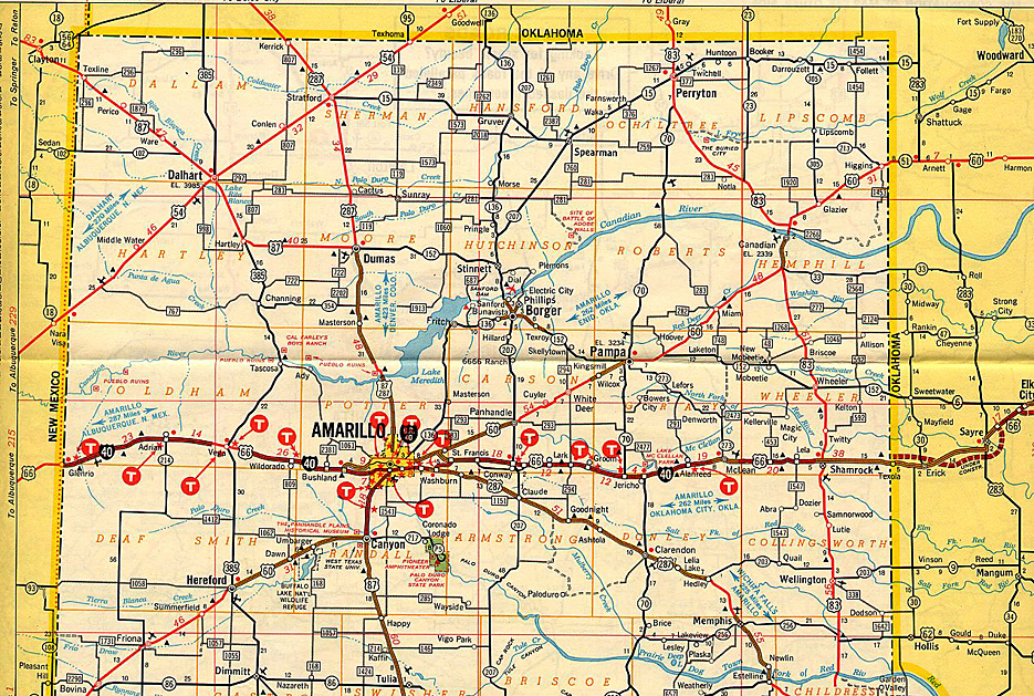 Map Of Texas Panhandle | Business Ideas 2013