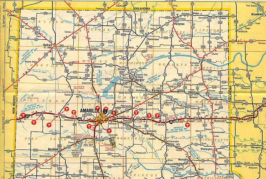Texas Panhandle Map Map Of Texas Panhandle   Business Ideas 2013 Texas Panhandle Map